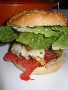 Moms day burger
