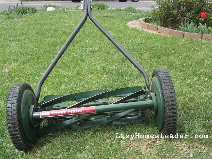 Sharpen Old Fashioned Lawn Mower Blades