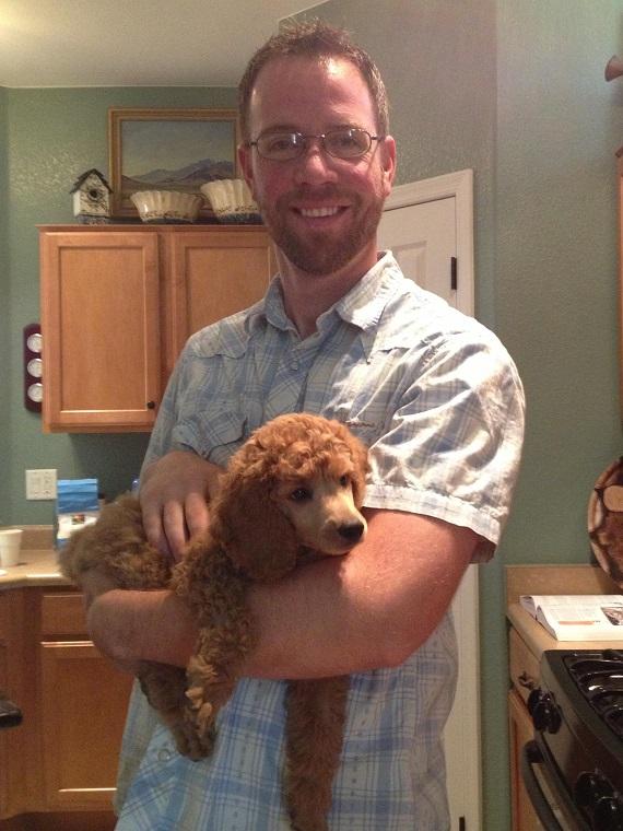 Rick & Jasper 8 weeks